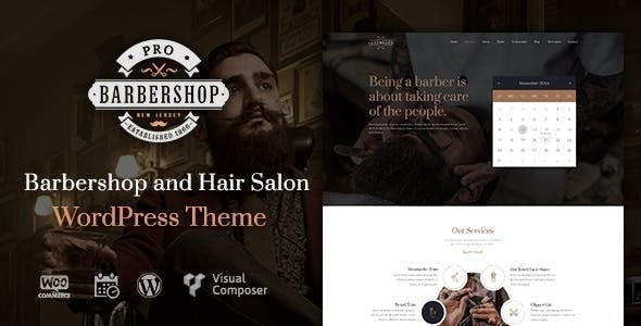 Barbershop Pro | Barbershop WordPress Barbershop - Health & Beauty Retail
