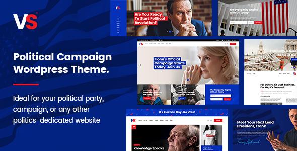 VoteStart - Political Campaign Theme - Political Nonprofit
