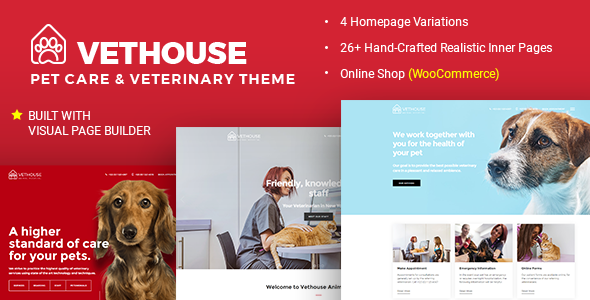 Vethouse - Pet Care & Veterinary Theme - Health & Beauty Retail