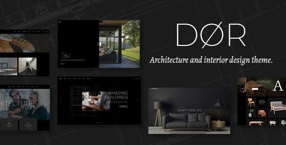 Dør - Modern Architecture and Interior Design Theme - Portfolio Creative