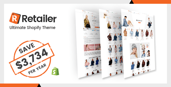 Retailer - Multipurpose Shopify Theme - Fashion Shopify