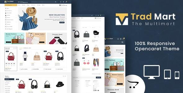 Tredmart - Responsive Multipurpose OpenCart 3 Theme - OpenCart eCommerce