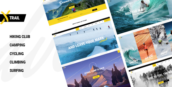 Xtrail - Extreme Sports and Outdoors Theme - Health & Beauty Retail