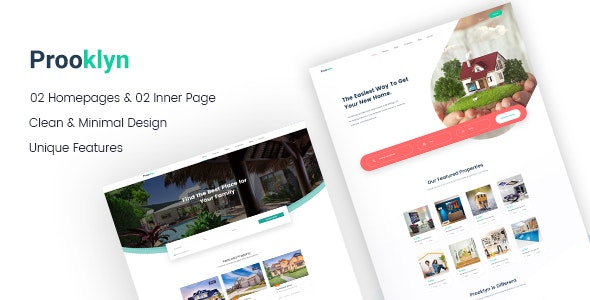 Prooklyn    Real-Estate Template - Business Corporate