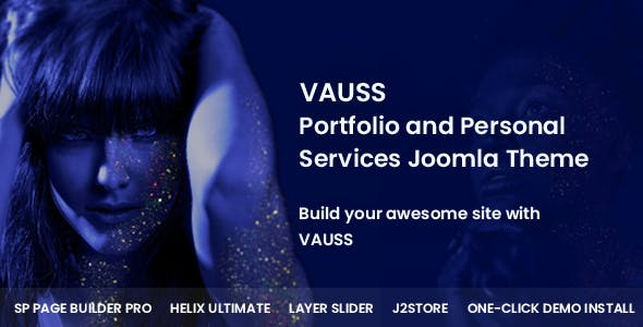 VAUSS - Portfolio and Personal Services Joomla Template
