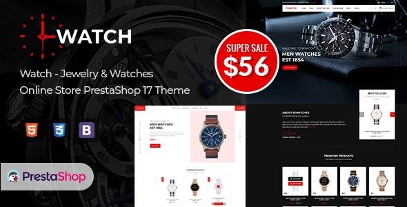 Watch - Multipurpose PrestaShop Theme - Shopping PrestaShop