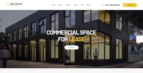 Opalhomes - Single Property  WordPress Theme