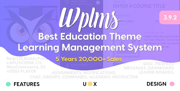 Education Wordpress Themes From Themeforest