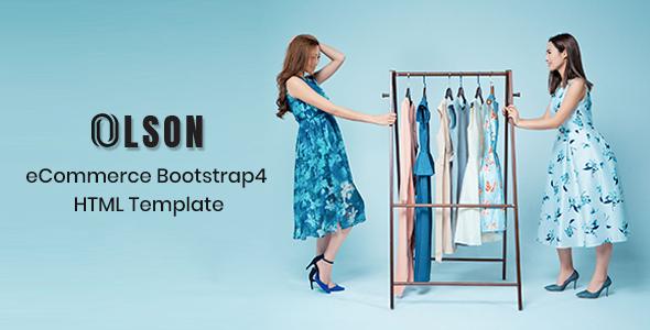 Olson - Fashion HTML Template - Shopping Retail