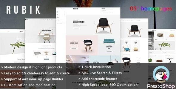Leo Rubik - Interior Furniture E-Commerce Prestashop Theme - PrestaShop eCommerce