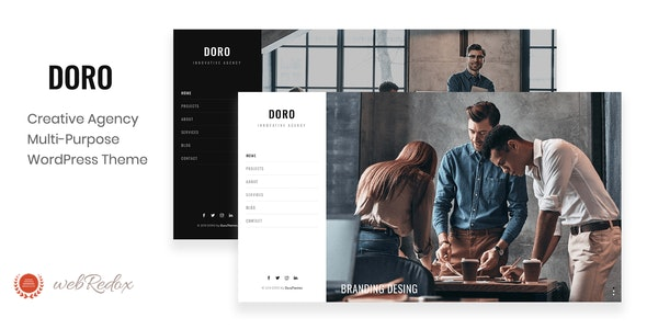 DORO - Creative Agency WordPress Theme - Creative WordPress