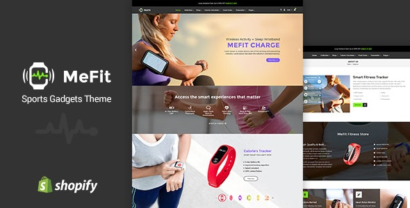MeFit Shopify - Sports Shopify Theme - Technology Shopify