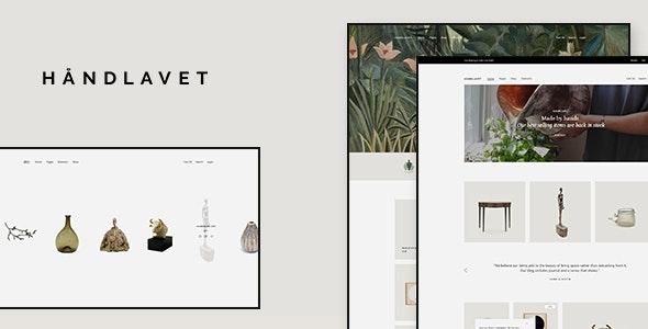 Håndlavet - Art and Home Decor Shop - WooCommerce eCommerce