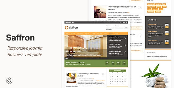 Saffron - Business Responsive Joomla Template - Business Corporate