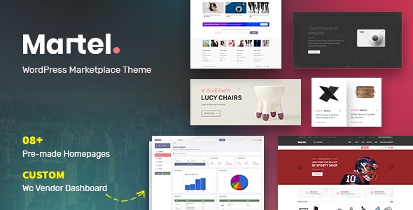 Martel - Modern eCommerce Marketplace WordPress Theme - WooCommerce eCommerce