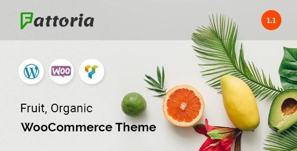 Fattoria - Organic WooCommerce Theme - WooCommerce eCommerce