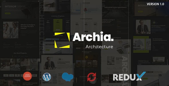 Archia Theme Preview