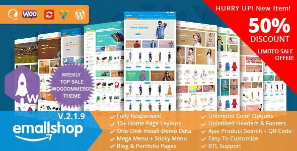 EmallShop – Responsive WooCommerce WordPress Theme