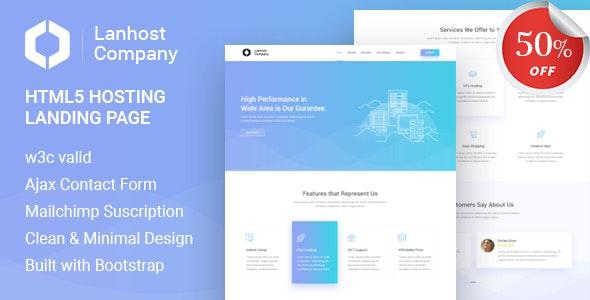 Planhost - HTML5 Hosting Landing Page - Hosting Technology