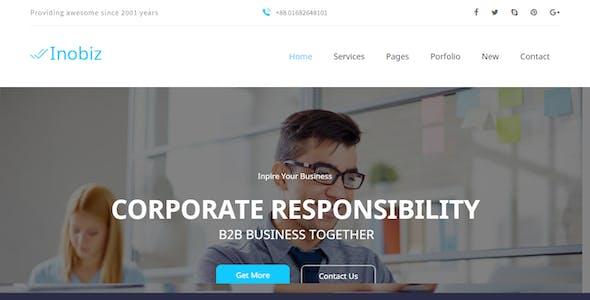 Inobiz - Startup Business and Agency Drupal 8.9 Theme