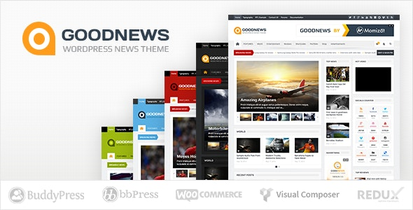 theme wordpress terbaik goodnews