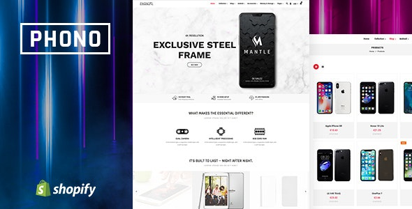 Phono | Online Mobile Store and Phone Shop Shopify Theme - Technology Shopify
