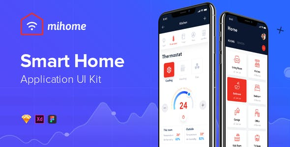 MIHOME - Smart Home UI Kit