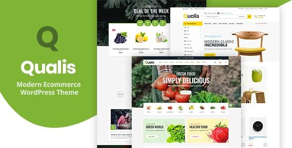 Qualis - Organic Food Responsive eCommerce WordPress Theme - WooCommerce eCommerce