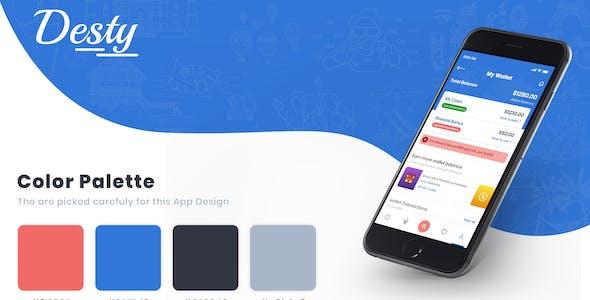 Desty - Travel App UI Kit