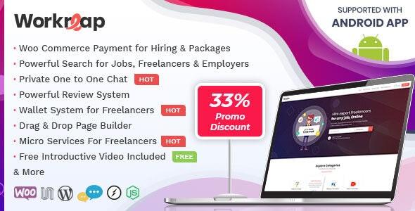 Workreap - Freelance Marketplace WordPress Theme - Directory & Listings Corporate