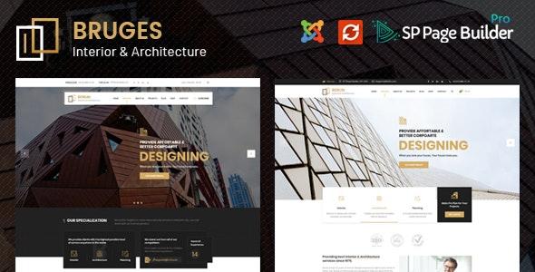 Bruges - Architecture & Interior Design Joomla Template - Business Corporate