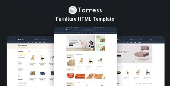 Torress - Furniture HTML Template - Shopping Retail