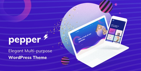 Pepper - Elegent Multi Purpose WordPress Theme - Business Corporate
