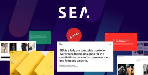 SEA | Creative Multi-Purpose WordPress Theme - Portfolio Creative