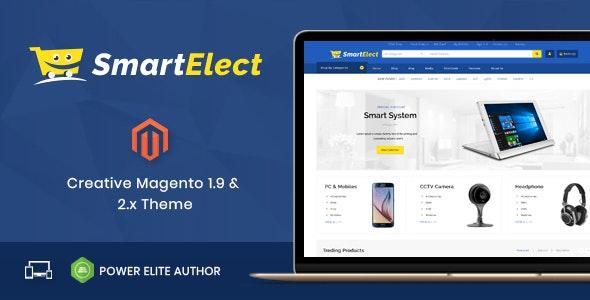 SmartElect - Responsive Magento 1 & 2 Theme - Shopping Magento