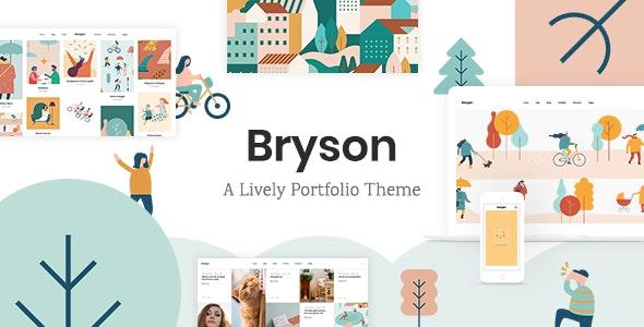 Bryson - Illustration and Design Portfolio Theme - Portfolio Creative