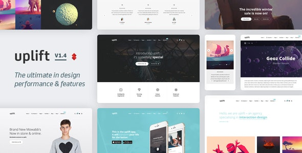 Uplift - Responsive Multi-Purpose WordPress Theme - Business Corporate