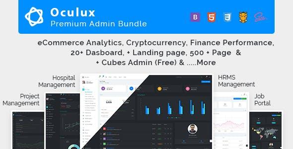 Oculux HTML Website Template from ThemeForest