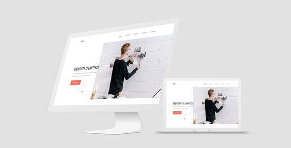 REEF - Creative Agency Portfolio Muse Template - Creative Muse Templates