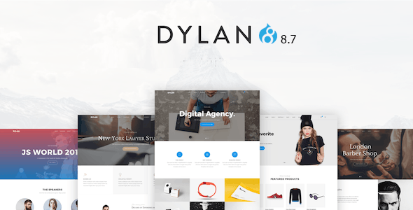 Dylan - Responsive Multi-Purpose Drupal 8.8 Theme - Creative Drupal