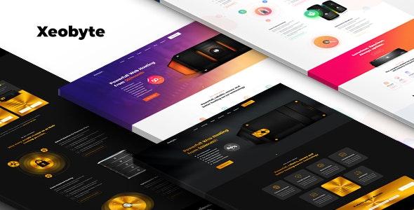 Xeobyte - The Hosting PSD Web Template - Hosting Technology