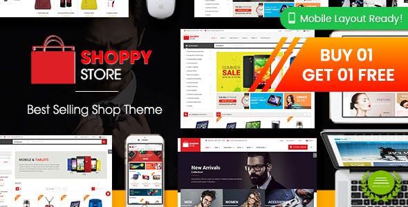 1fe73e081a ShoppyStore - Multipurpose Responsive WooCommerce WordPress Theme (15+  Homepages & 3 Mobile Layouts)