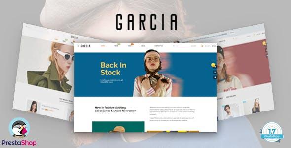 Bos Garcia - Fashion eCommerce Prestashop Theme