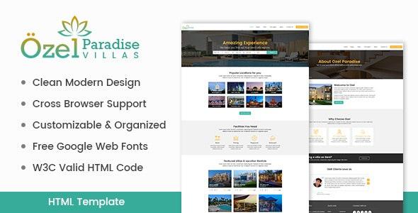 Ozel Paradise Villas by ogwebsolutions