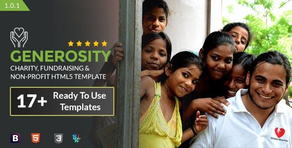 Generosity - Charity HTML5 Template