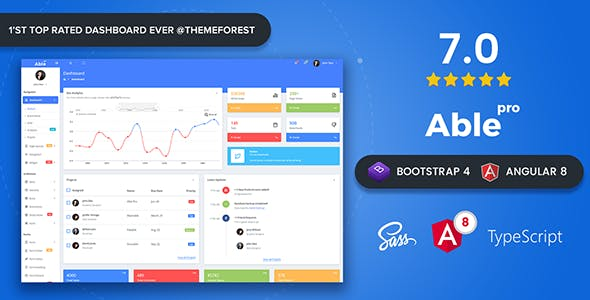 Angularjs 4 0 x Website Templates from ThemeForest