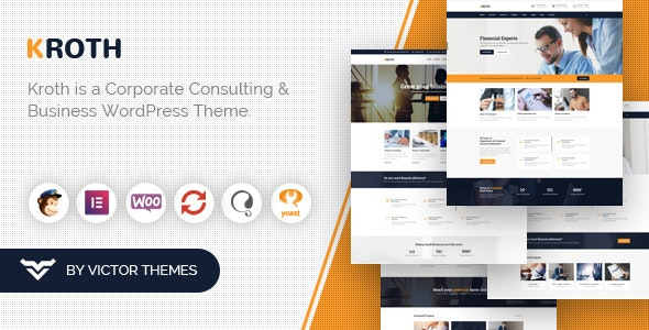 Kroth - Business/Consulting WordPress Theme - Business Corporate