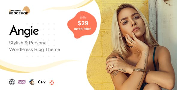 Angie - a Multi-Concept Blog Theme For WordPress nulled theme download