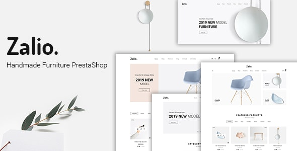 Zalio - Handmade Furniture PrestaShop 1.7 Theme - Shopping PrestaShop