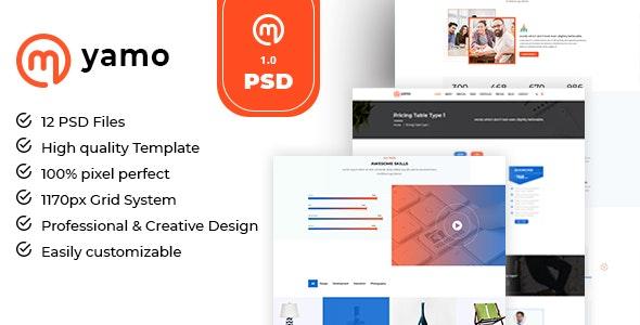 Myamo - Business & Corporate PSD Template - Marketing Corporate